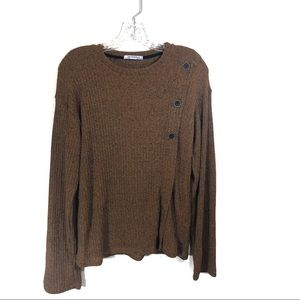 Zara Chunky Crew Neck Sweater